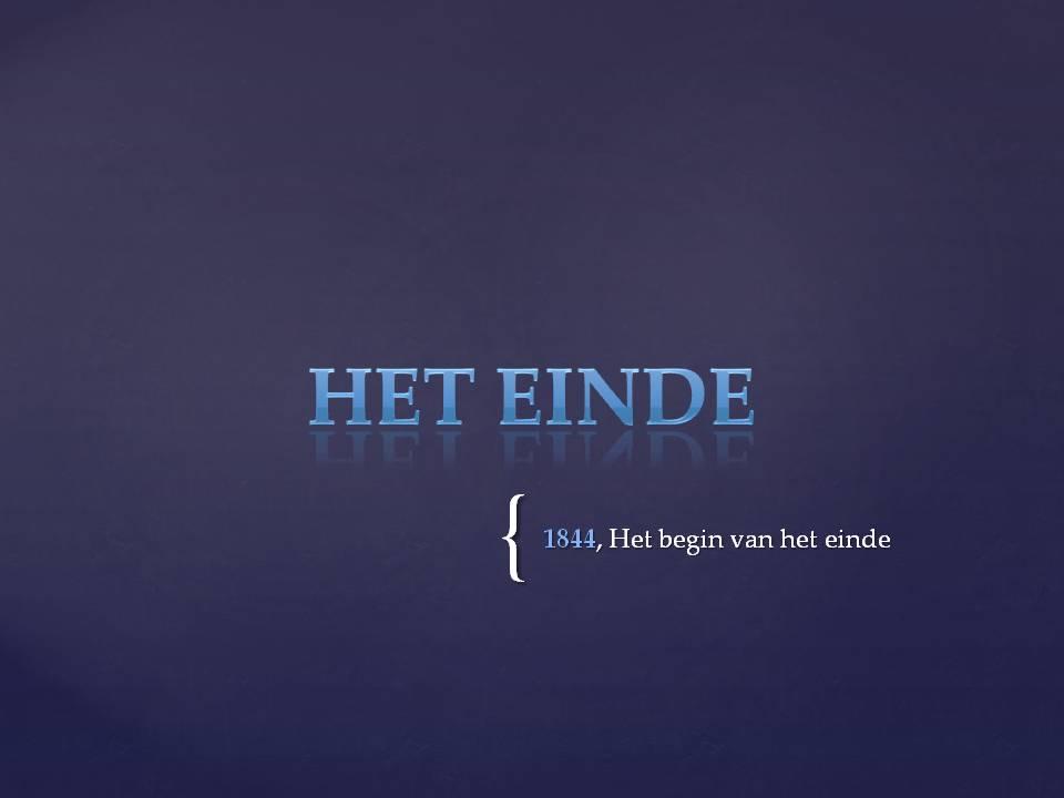 Agp study het einde - Einde van de wereld meubilair ...